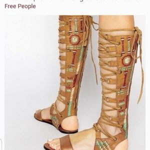 Free People Bellflower Gladiator Sandals